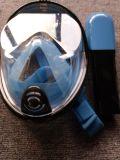 Plein masque protecteur de première prise d'air sèche pliable antibrouillard pour la natation de plongée