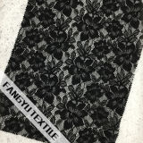 Ткань шнурка хлопка лепестка цветка Nylon для платья девушки