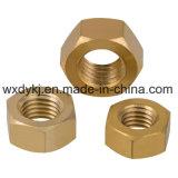 Hexagon Head DIN 934 Brass Hex Nut