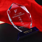 Trofeo de cristal de la concesión del iceberg cristalino de la alta calidad K9 para el recuerdo