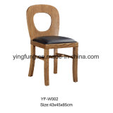 Ristorante di legno solido che pranza presidenza per la mobilia del ristorante