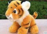 Reale come i giocattoli animali della tigre farciti peluche per i bambini