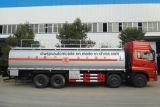 Dongfeng 4 árboles 40000 L petrolero 35t del combustible a 40t reaprovisiona el carro del tanque de combustible