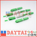 La fibre optique Sc/APC de qualité jeûnent Repeatly utilisé par connecteur