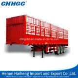 3 Axles Store House Bar Type/Fence/Cargo Semi Trailers