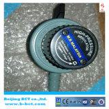 Régulateur à haute pression avec la sortie en aluminium 0-2bar 0-6kg/H BCT-HPR-04 de barre de la prise 0.5-10 de corps