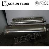 Serbatoio gas-aria appiattito di pressione dell'acciaio inossidabile mini