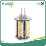 G4 diodo emissor de luz Bulb Dimmable18SMD5050 DC10-30V/AC8-18V 2W