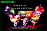 창조적인 실내 풀 컬러 LED DJ 부스 전시 화면
