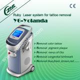 ND do Q-Interruptor da tela da cor: Tatuagem da máquina da remoção do tatuagem de YAG (Y6a-Yolanda)