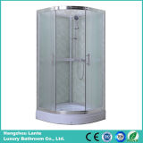 Sitio de ducha simple del vidrio helado (LTS-611)