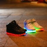 Nieuwe Volwassen LEIDENE van de Stijl Lichte Schoenen met Lichte Zool
