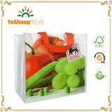 Fabricante natural no tejido lleno 100% del bolso de Lamianted de la impresión de la fruta portable del bolso de la manera