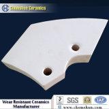 92%の耐久性のためのアルミナによってカスタマイズされる陶磁器の摩耗のタイルはさみ金