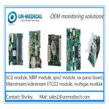 3&5 conduz o módulo de ECG para o monitor paciente