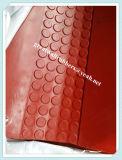 Couvre-tapis en caoutchouc d'escalier de ventes d'usine, couvre-tapis antidérapage d'escalier, couvre-tapis en caoutchouc