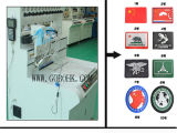 Máquina distribuidora da etiqueta macia do PVC
