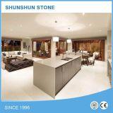 Nueva piedra del cuarzo de la encimera de la cocina