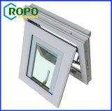 Doppio europeo di stile UPVC lustrato con il rimontaggio Windows dei ciechi