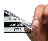 [ديجتل] طباعة ب تمسّك [غلسّ ويندوو] قابل للاستعمال تكرارا بيضاء ساكن إستاتيكي لاصق
