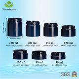 mini tarros cosméticos azul marino 50ml para la fundación líquida
