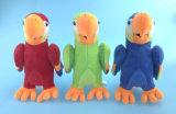 Brinquedo enchido do papagaio do luxuoso na cor três