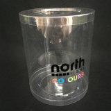 明確なプラスチックシリンダー管(ペット円形ボックス)