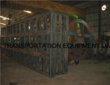 40 voeten 2 de Semi Aanhangwagen van Platfrom van de As (voor de Markt van het Midden-Oosten)
