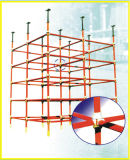 Système de construction d'échafaudage de mur