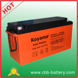 CE Certified Solar Battery Deep Cycle Gel Battery 12V 100ah