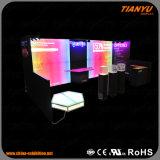 Cabina su ordinazione di mostra della parete di vendita calda LED