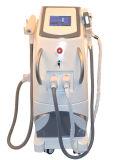Superventas opta la máquina del retiro del pelo del tatuaje del laser del retiro de la cicatriz del acné del rejuvenecimiento de la piel de la E-Luz IPL de Shr