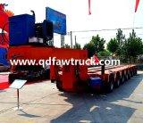 60 tonnellate lowbed, rimorchio basso resistente della base dell'Tri-Asse
