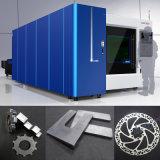 machine de découpage en métal de laser de fibre de la commande numérique par ordinateur 1000W pour la plaque de formulaire