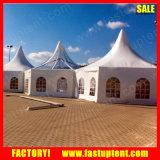 100-150人の塔のおおいの結婚披露宴の六角形の望楼のテント
