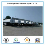 China 40000L Fuel Oil Tanker Semi-Trailer Fabricante