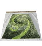 Estera de seda suave estupenda de la alfombra de la materia textil de la manta de la alfombra de Inspissate