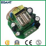plot électrique de deux ports USB de 84mm*84mm