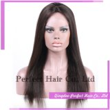 흑인 여성을%s 긴 가득 차있는 레이스 정면 사람의 모발 가발