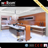 2016 Welbom Elegante acabamento em móveis pintados de cozinha