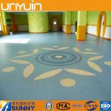 Innenmall-stützbarer elastischer Vinylbodenbelag