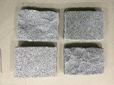 Granito de cristal de Bianco, laje Polished do granito G602 branco para a bancada, telhas, pedra de pavimentação (YY-MS197)