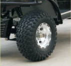 小型貨物トラック(DEL2023DUB、2-Seater)が付いている電気事業のカート