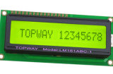 Zeichen 16X1 LCD-Bildschirmanzeige alphanumerischer PFEILER Typ LCD-Baugruppe (LMB161A)