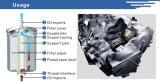 El carro de la calidad parte la cubierta de aluminio del filtro de combustible