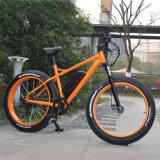 26inch 500W fetter Gummireifen-Gebirgselektrisches Fahrrad