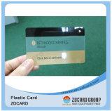 Cartão transparente plástico do membro do PVC da impressão Offset