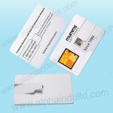 Lecteurs flash de Custom Promotional de Carte-Twist avec Full Color Print Your Company Logo (ALP-029U-2)