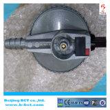 Regolatore ad alta pressione con la presa di alluminio 0-2bar 0-6kg/H BCT-HPR-03 della barra dell'ingresso 0.5-10 del corpo
