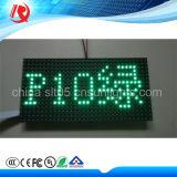 Indicadores impermeáveis Semi-Ao ar livre verdes do módulo do diodo emissor de luz P10
